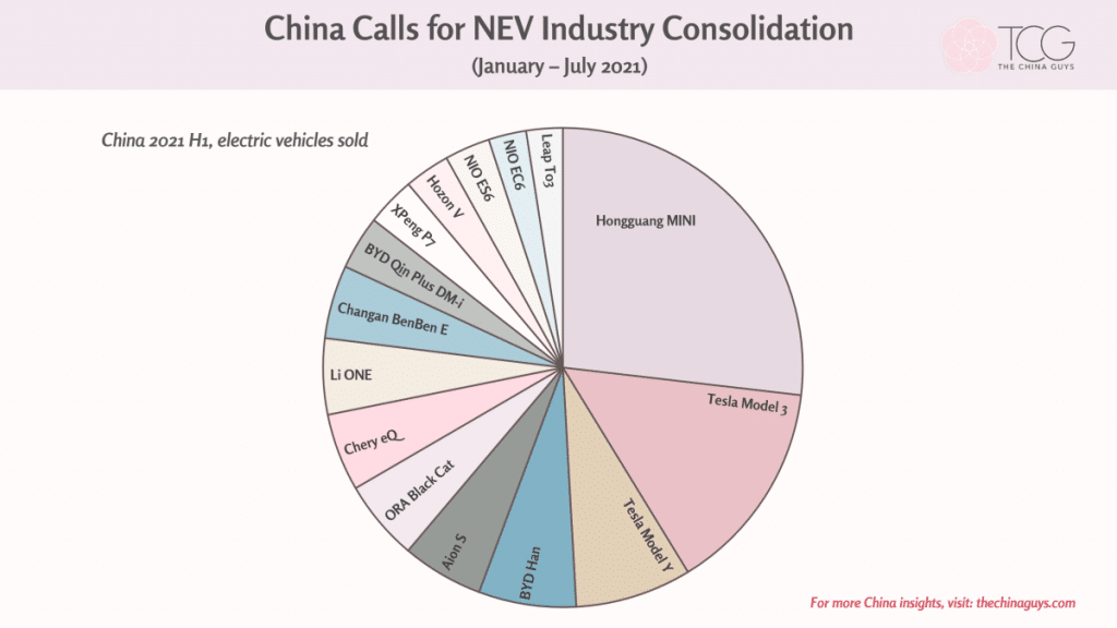 China calls for NEV industry consolidation